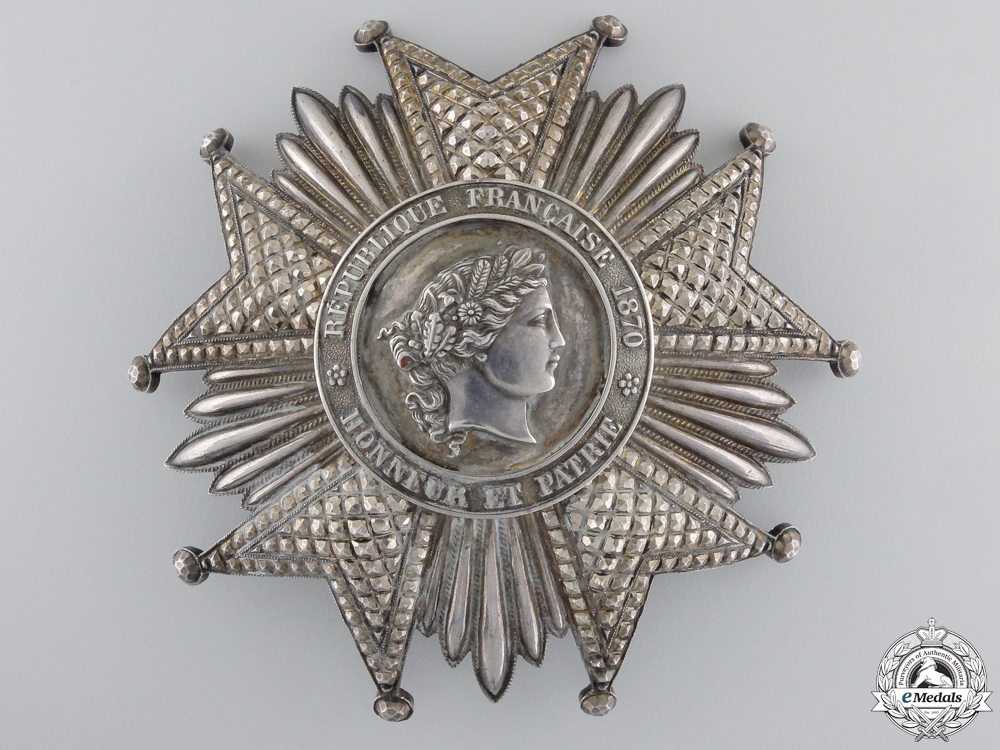 eMedals-A First War French Legion D'Honneur; Grand Cross Star