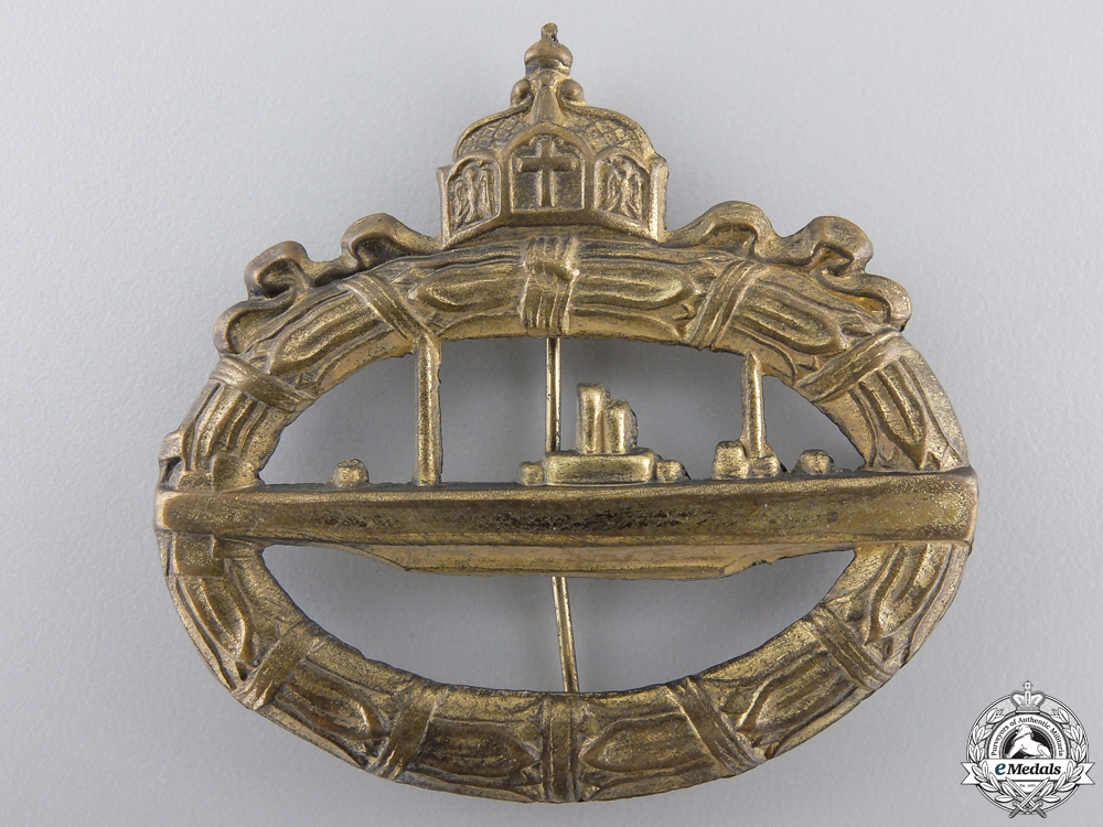 eMedals-A First War German Imperial Submarine Badge