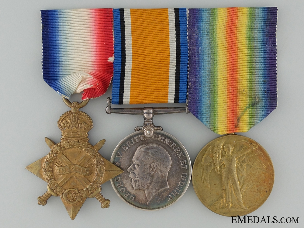 eMedals-A First War Group to the Canadian Army Medical Corps CEF