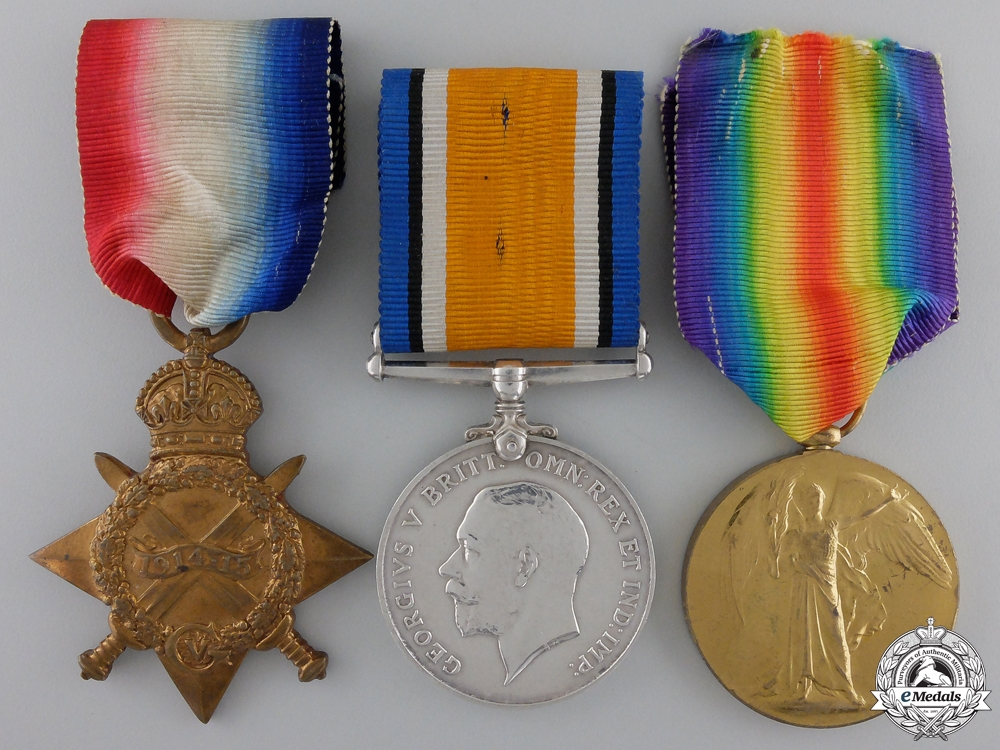 eMedals-A First War Group to the 27th Battalion; Shell Shocked at Vimy