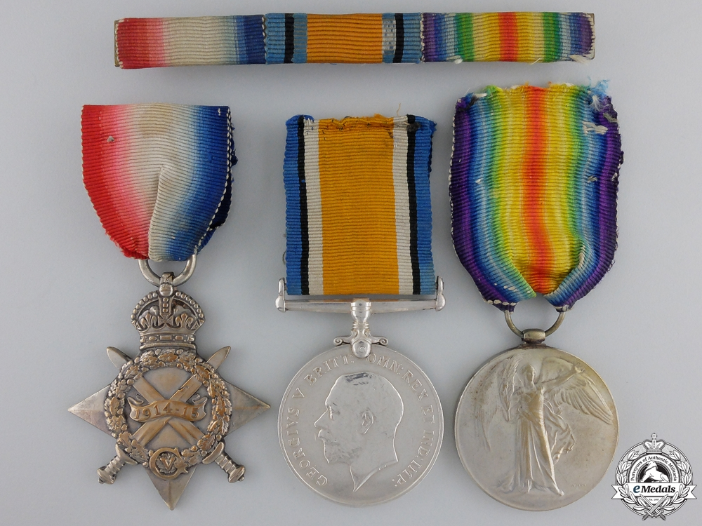 eMedals-A First War Group to 5th Canadian Infantry CEF