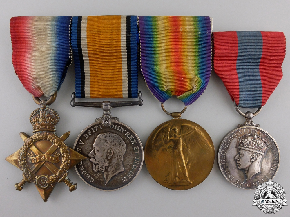 eMedals-A First War Imperial Service Medal Group to the Royal Engineers  Consignment #36