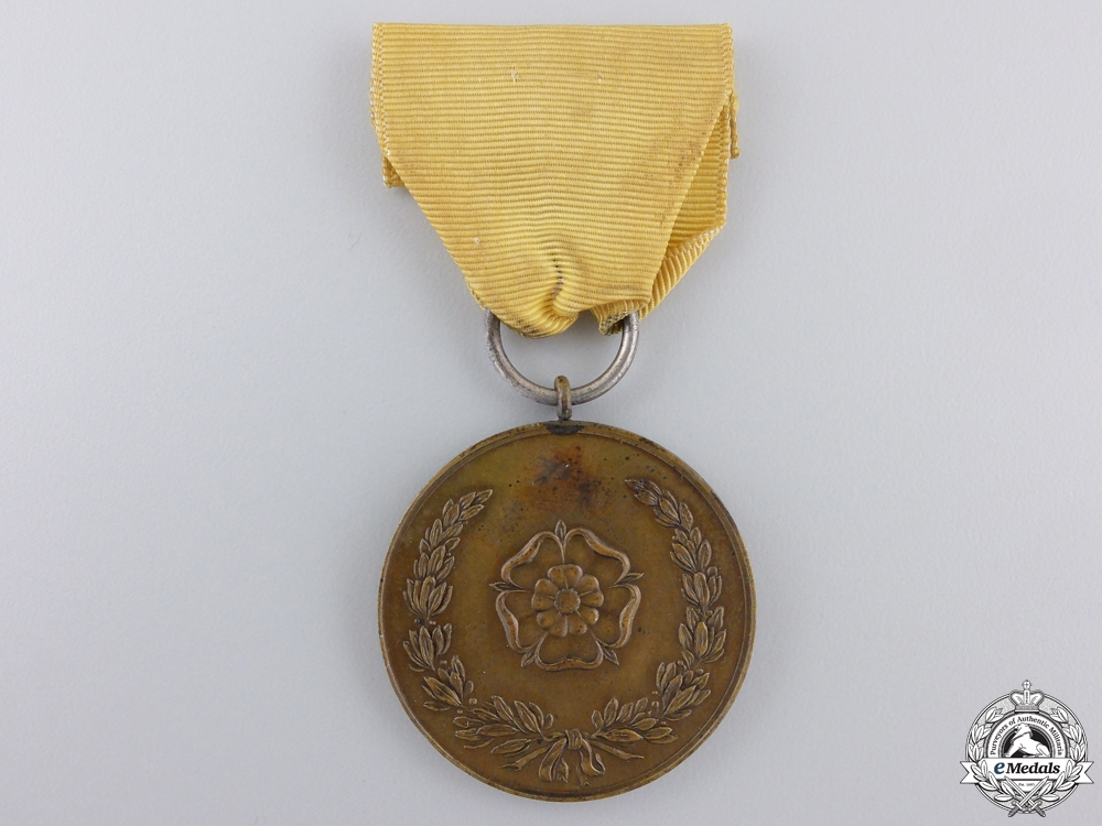 eMedals-A First War Lippe-Detmold Military Merit Medal with Swords