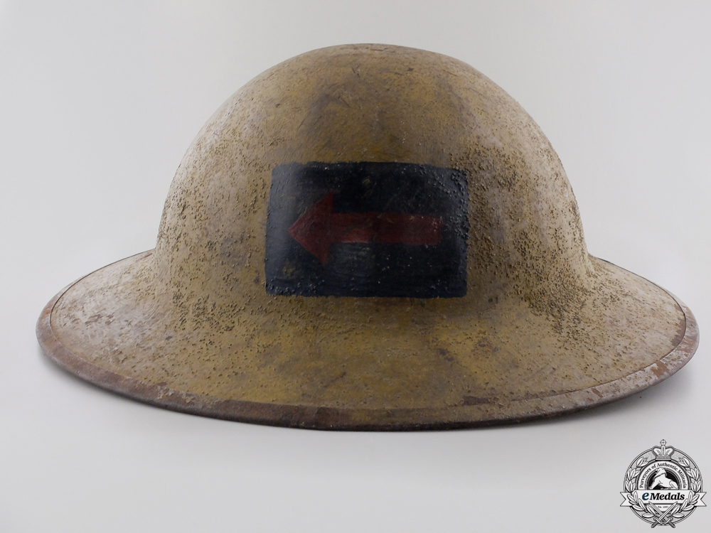 eMedals-A First War Mark II 2nd Canadian Machine Gun Battalion Helmet  Consignment #4