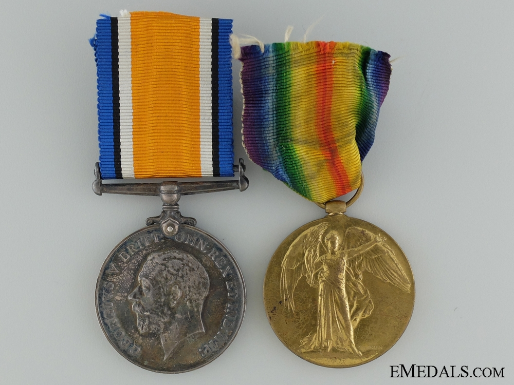 eMedals-A First War Medal Pair to the Canadian Forestry Corps