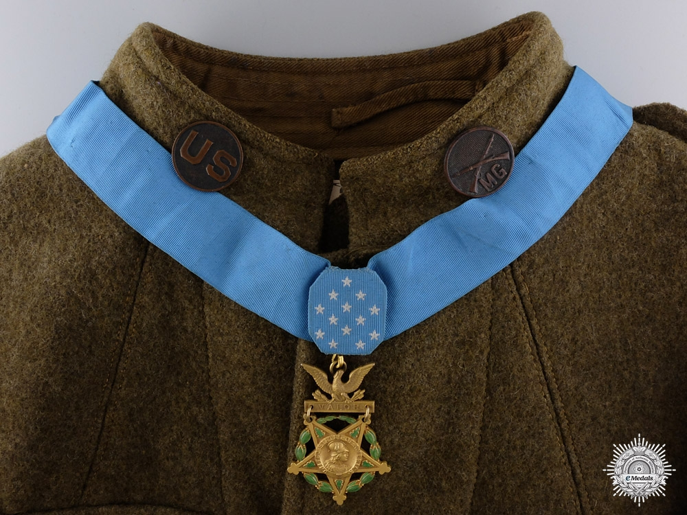eMedals-A First War Medal of Honor for Heroism at Bois-de-Forges