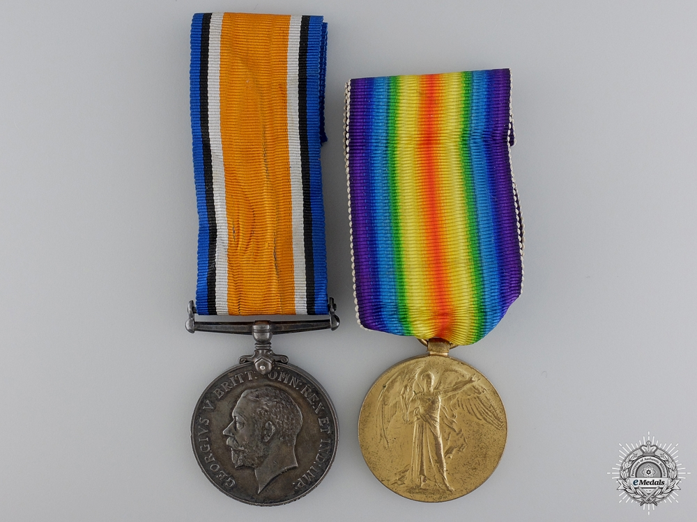 eMedals-A First War Medal Pair to the Royal Navy Reserve