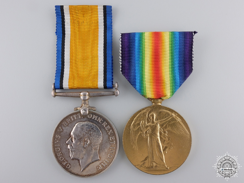 eMedals-A First War Medal Pair to the Royal Navy