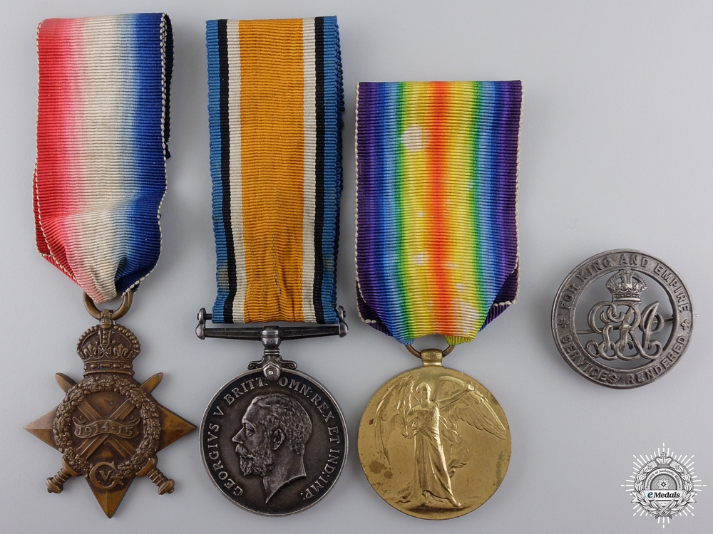 eMedals-A First War Medal Group to the Manchester Regiment