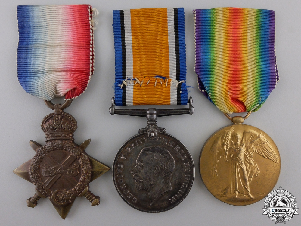 eMedals-A First War Medal Trio to the Royal Navy
