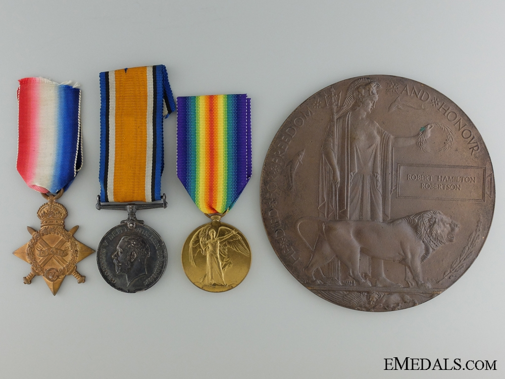eMedals-A First War Memorial Group; Counter Attack at Cambrai 1917