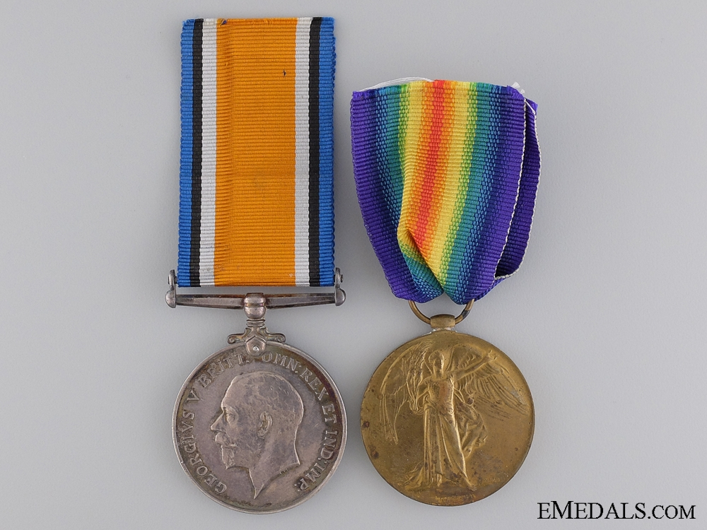 eMedals-A First War Pair to the 15th Battalion