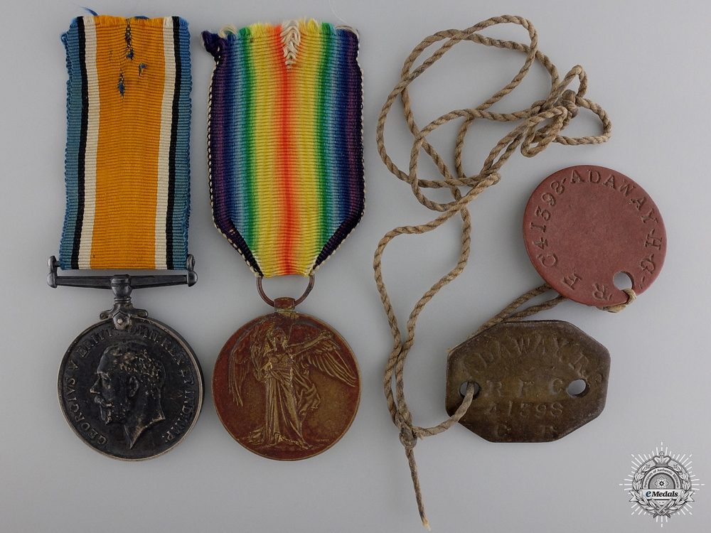 eMedals-A First War Pair to the Royal Air Force