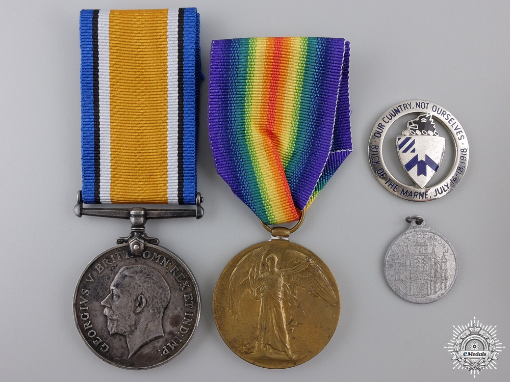 eMedals-A First War Pair to the 49th Canadian Infantry