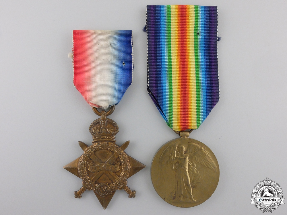 eMedals-A First War Pair to the Royal Canadian Horse Artillery