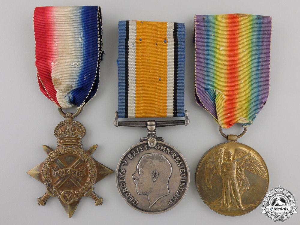 eMedals-A First War Pair to the Royal Navy