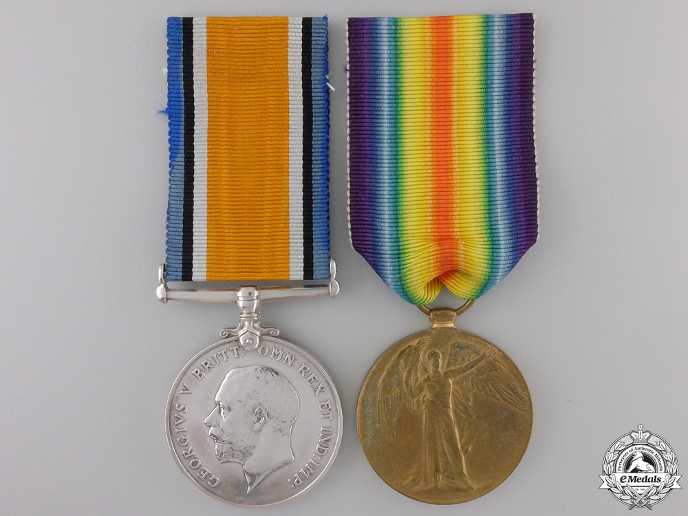 eMedals-A First War Pair to the Army Service Corps