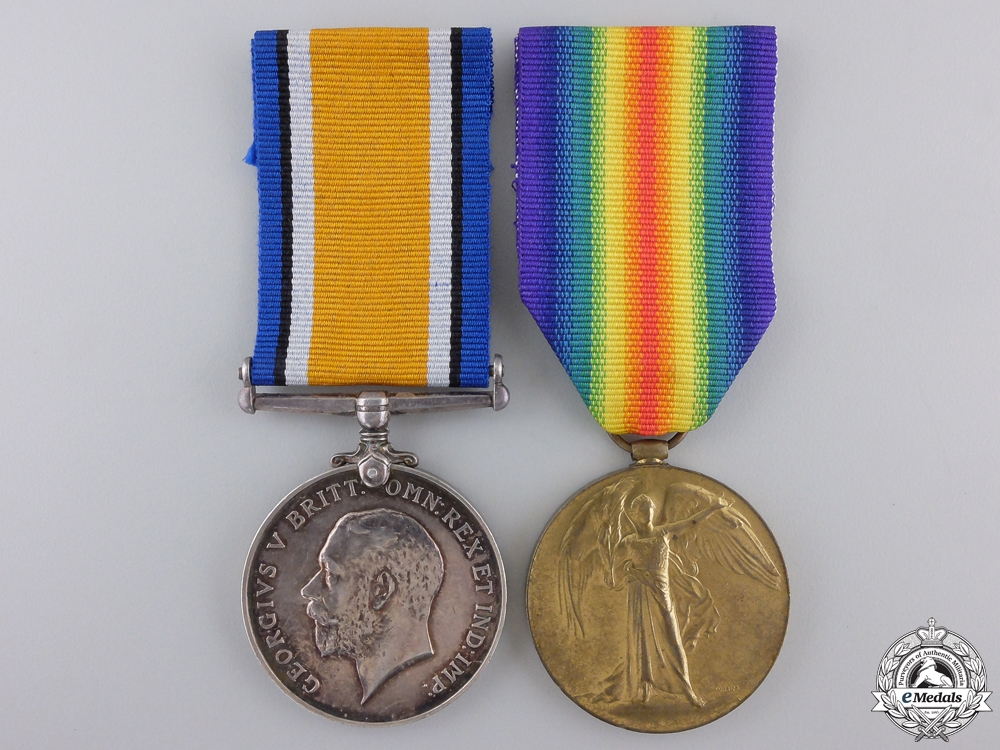 eMedals-A First War Pair to the 24th Canadian Infantry Battalion