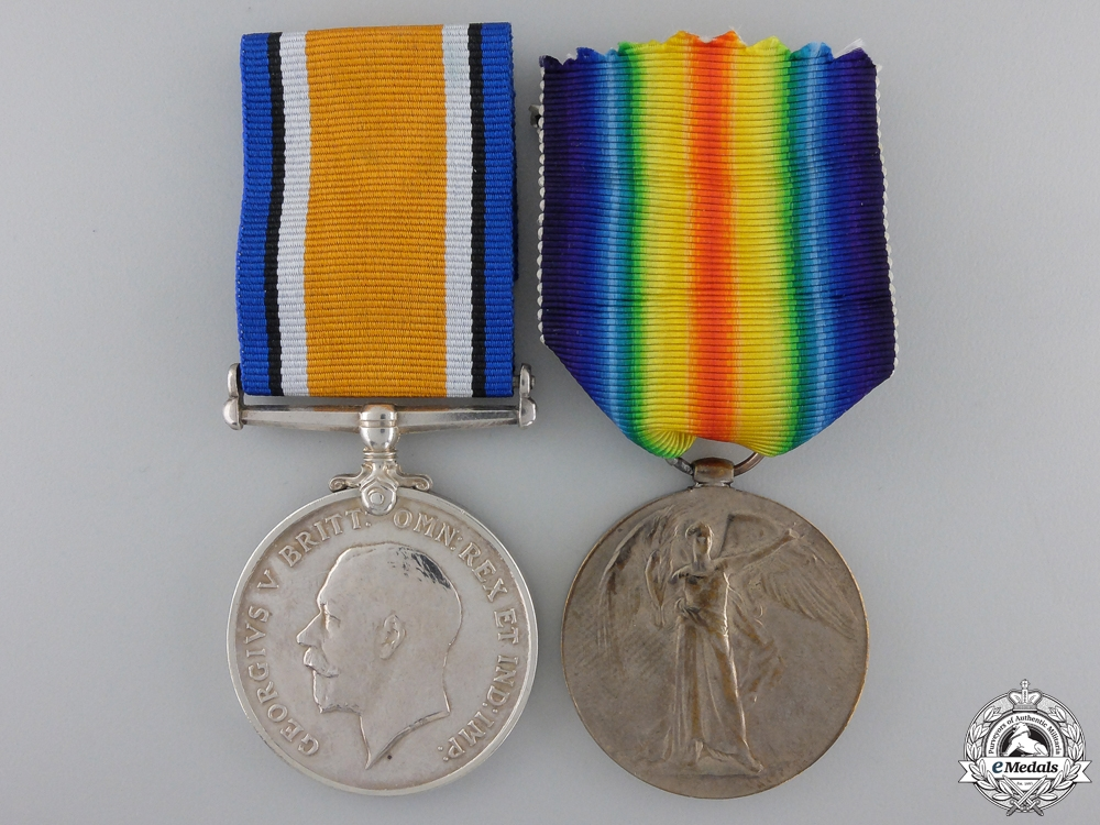 eMedals-A First War Pair to the 78th Infantry; Wounded May 1918