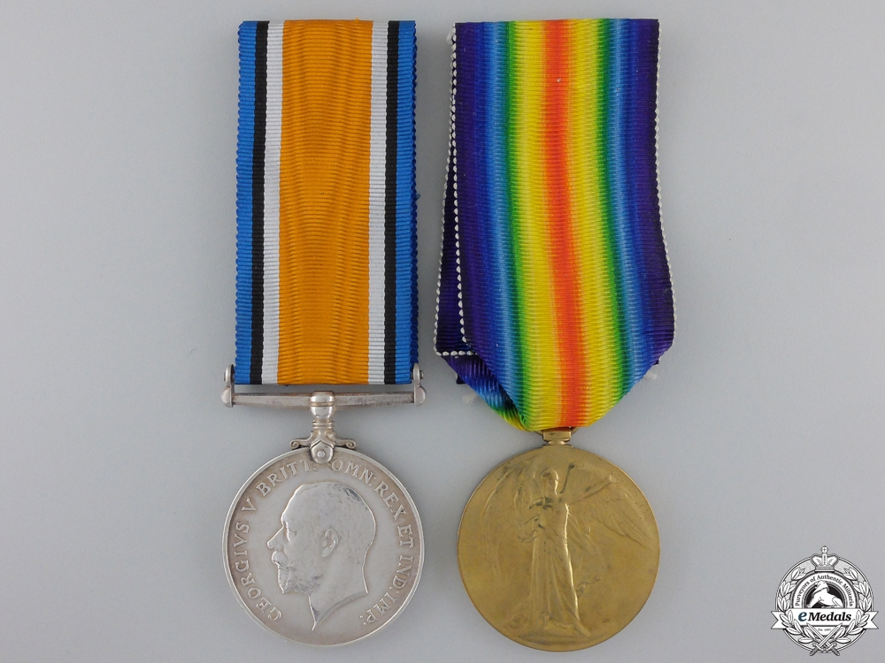 eMedals-A First War Pair to Military Medal Recipient of the Skilled Railway Employees