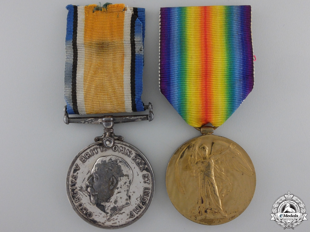 eMedals-A First War Pair to the 60th Canadian Infantry