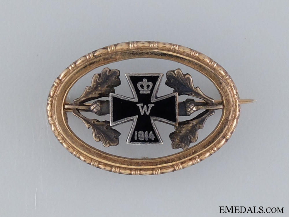 eMedals-A First War Patriotic Iron Cross