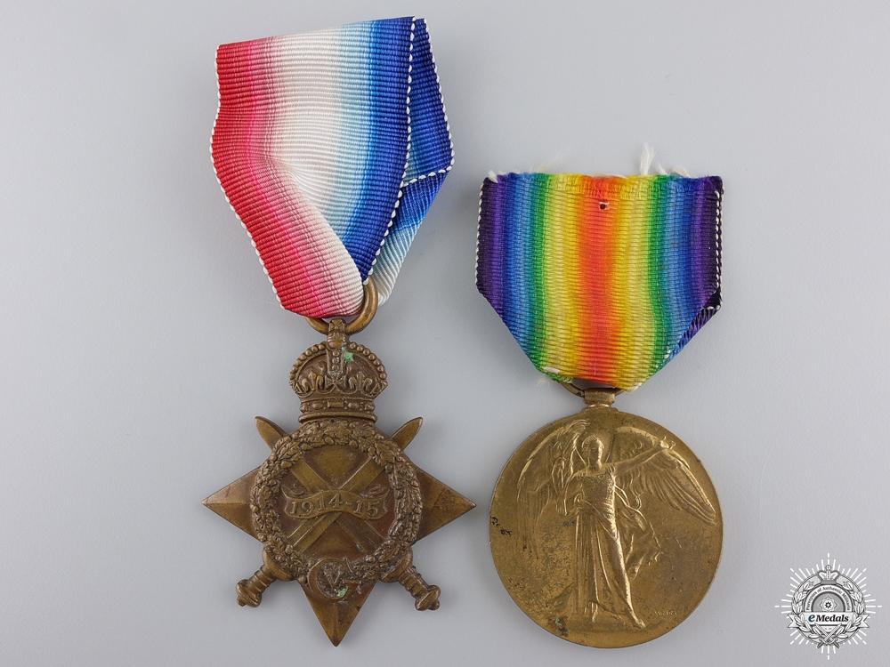 eMedals-A First War Royal Navy Reserve Medal Pair to Ensign Hayter