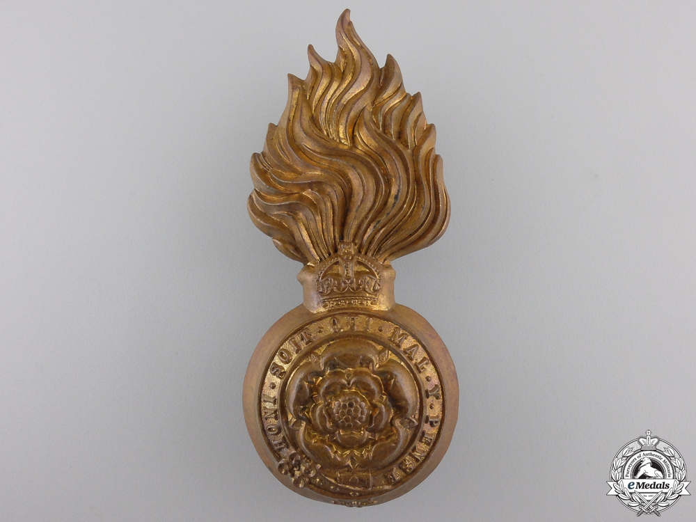 eMedals-A First War Royal Fusiliers Badge