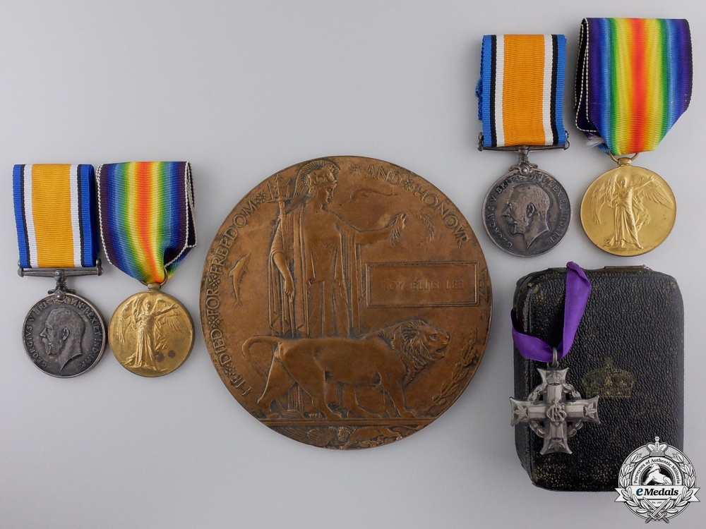 eMedals-A First War Saskatchewan Group to the Lee Brothers; KIA 1918