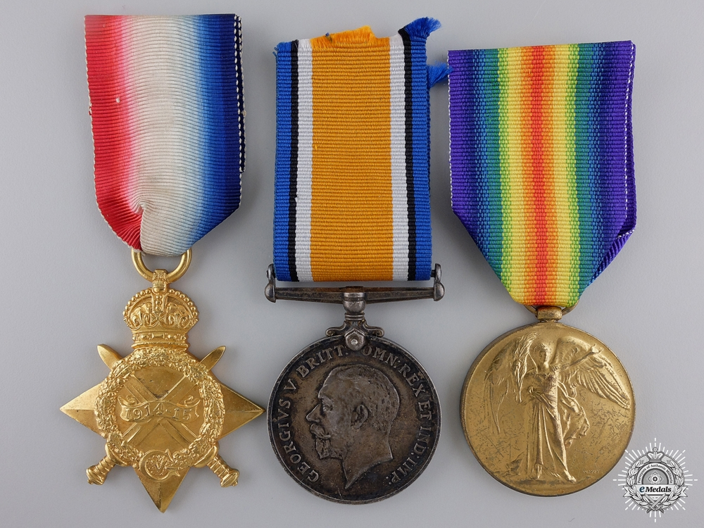 eMedals-A First War Trio to the 24th Canadian Infantry