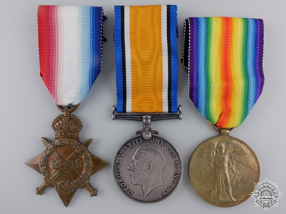 eMedals-A First War Trio to the 20th Canadian Infantry Battalion