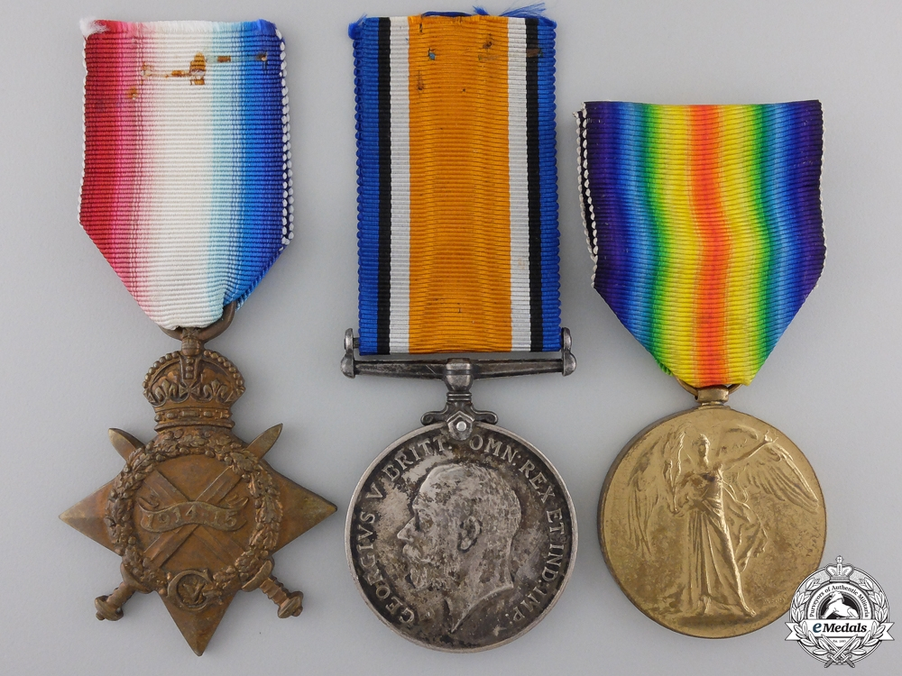 """eMedals-A First War Trio to the 28th Battalion """"North West Regiment"""""""