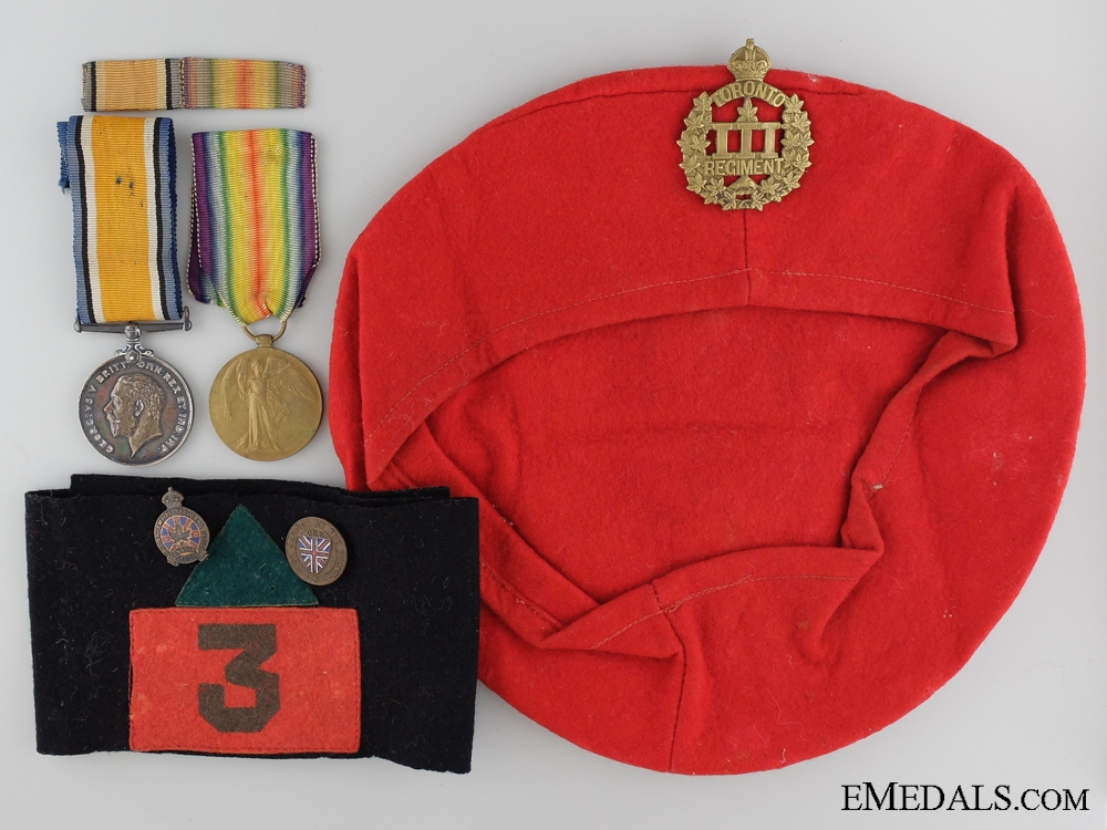 eMedals-A First War Veterans Group to the 3rd Canadian Infantry Battalion
