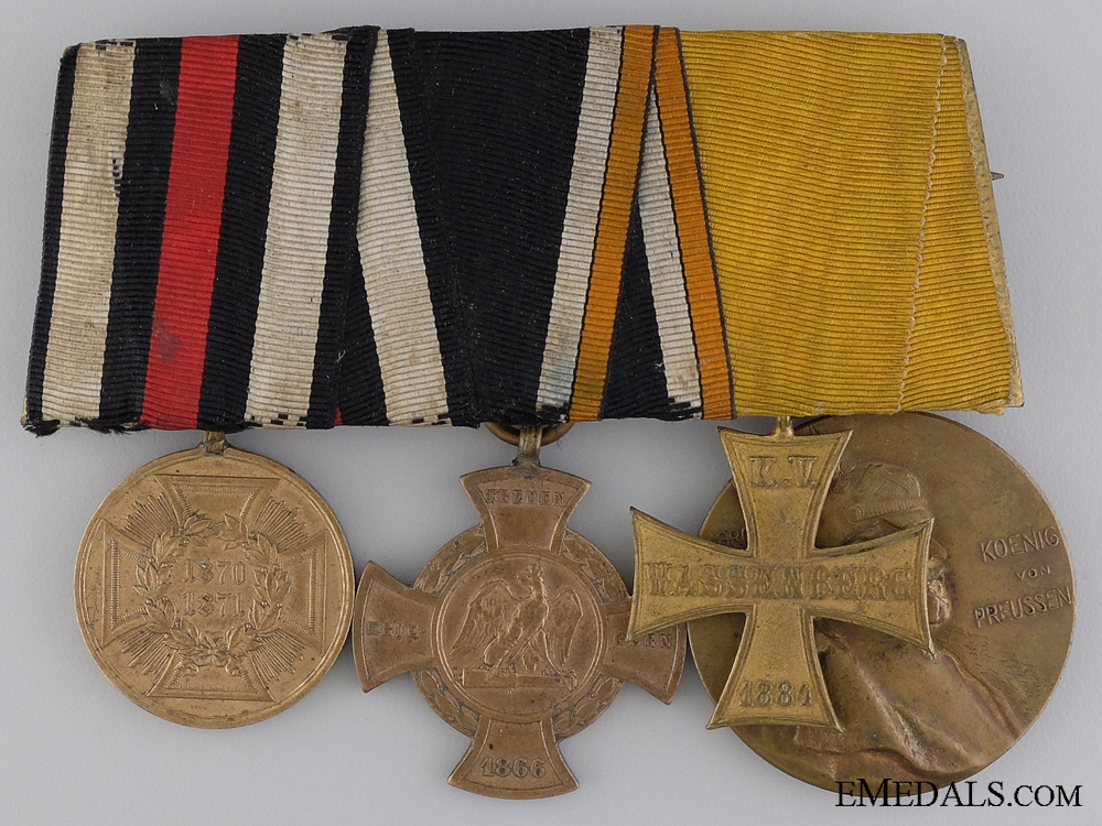 eMedals-A Franco-Prussian and Austro-Prussian War Veteran's Group