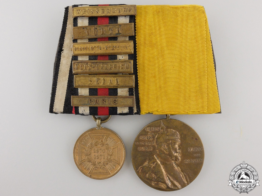 eMedals-A Franco-Prussian War Medal Pair