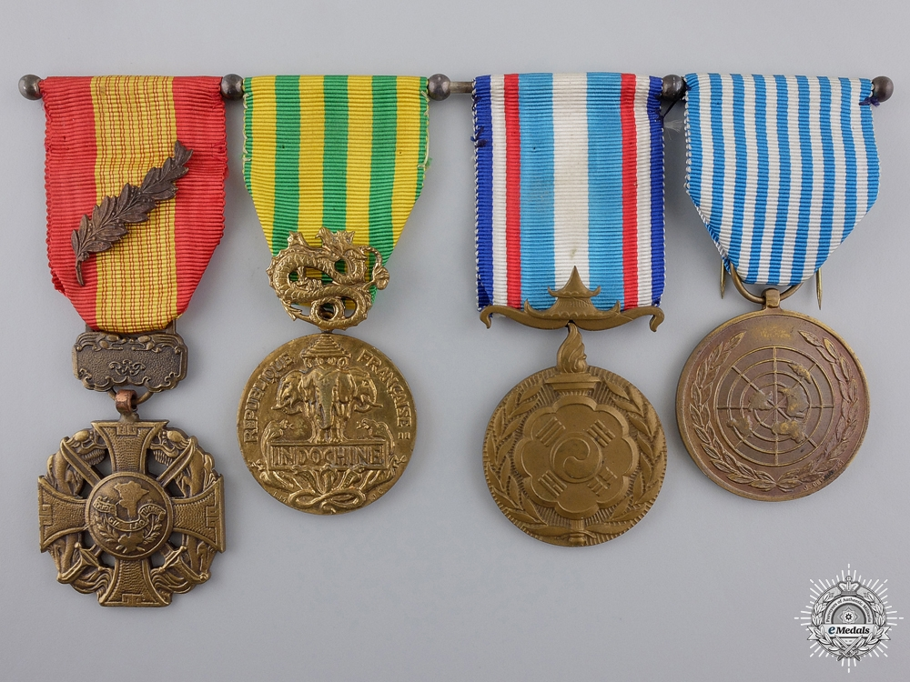 eMedals-A French Asian Theatre Gallantry Medal Bar