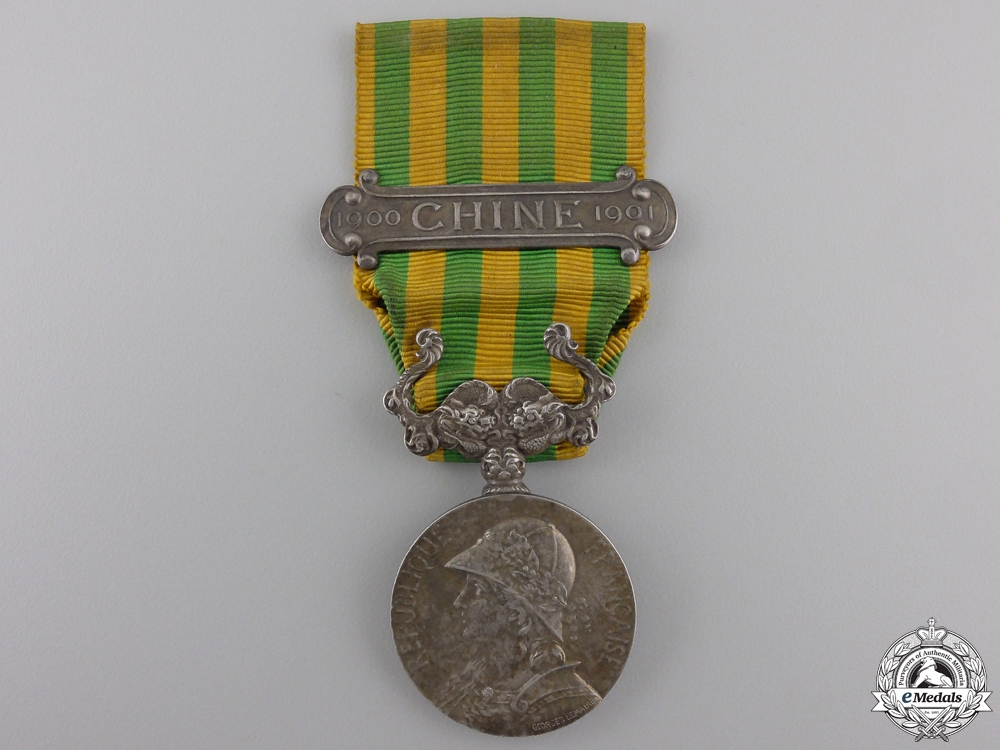eMedals-A French Boxer Rebellion Medal 1900-1901