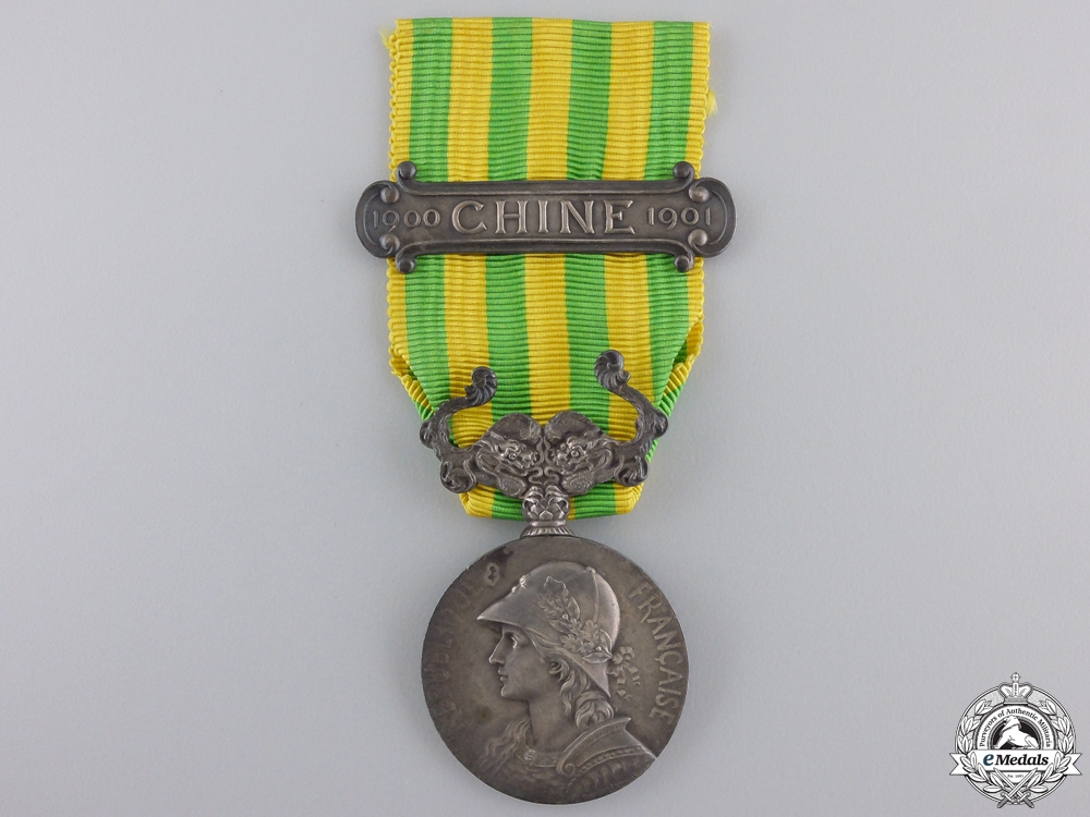 eMedals-A French Campaign medal for China 1900-1901
