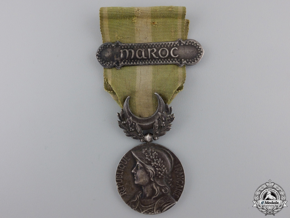 eMedals-A French Colonial Medal for Morocco Service