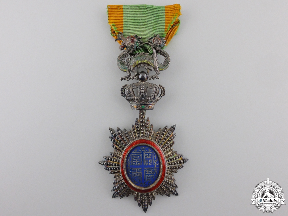eMedals-A French Colonial Order of the Dragon of Annam