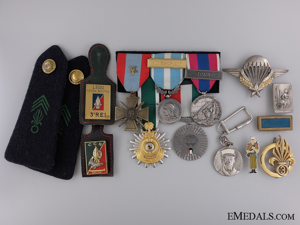 eMedals-A French Foreign Legion 'Liberation of Kuwait' Group