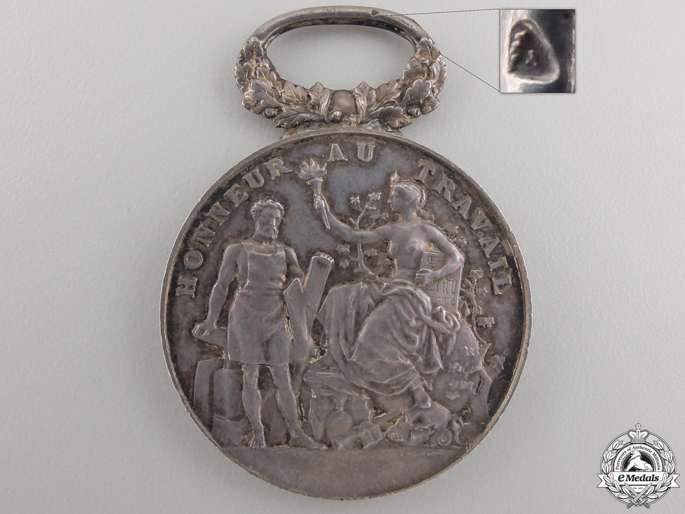 eMedals-A French Industry & Commerce Medal to Mme. Marie Claireaux