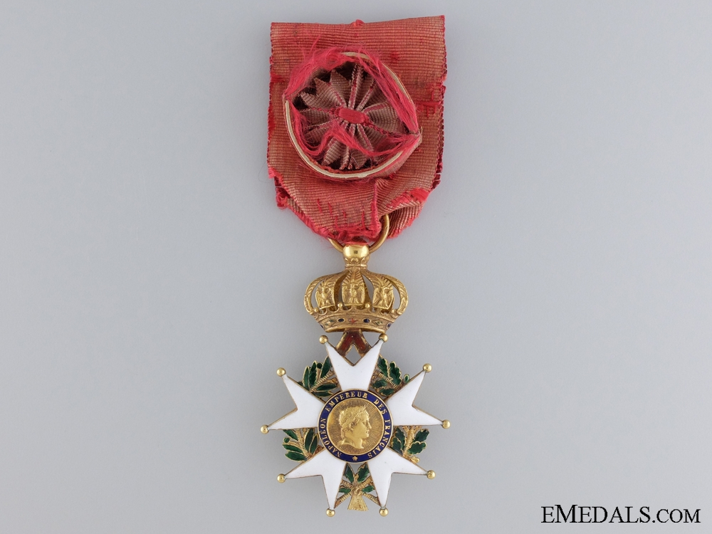 eMedals-A French Legion D'Honneur; Officers Badge in Gold