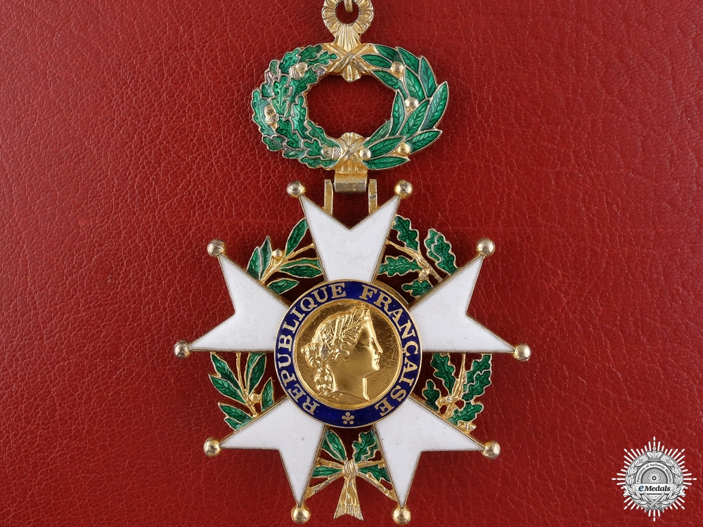 eMedals-A French Legion of Honour; Commander's
