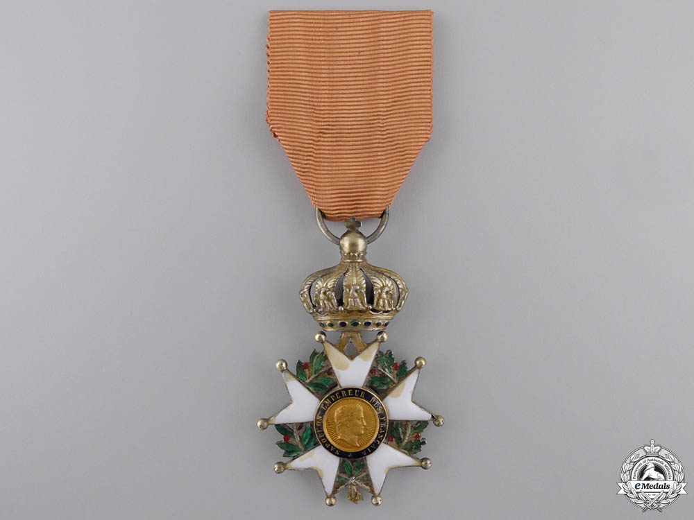 eMedals-A French Legion D'Honneur; Second Republic (1852-1870)