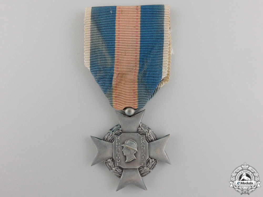eMedals-A French Military Volunteer Cross