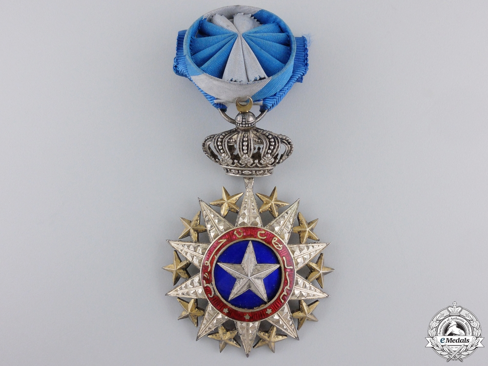 eMedals-A French Somaliland Order of Nichan el Anouar; Officer
