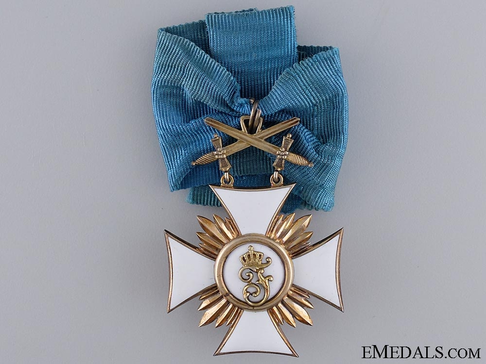 eMedals-A Friedrich Order of Wurttemberg; Knight First Class with Swords