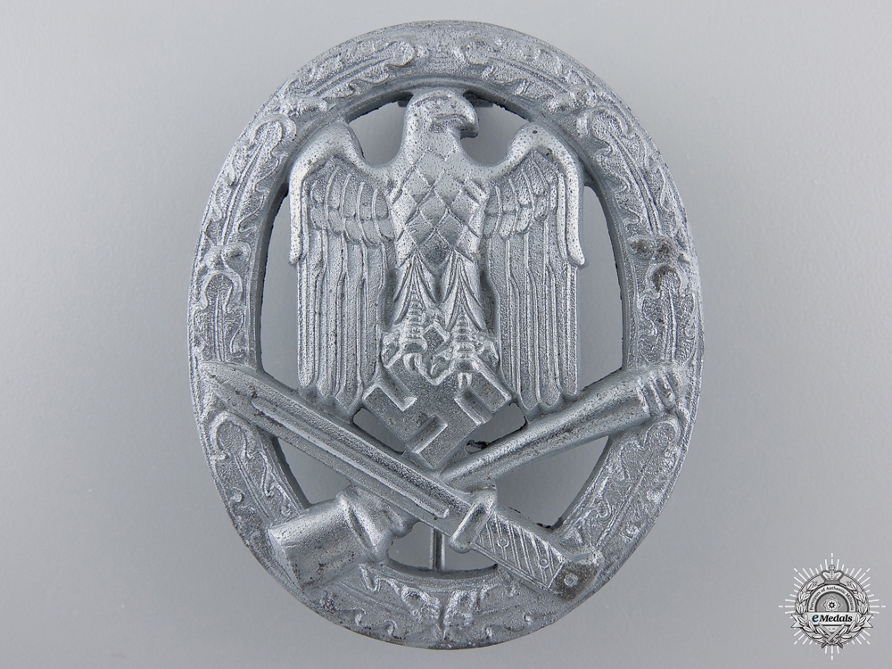 eMedals-A General Assault Badge; Unmarked