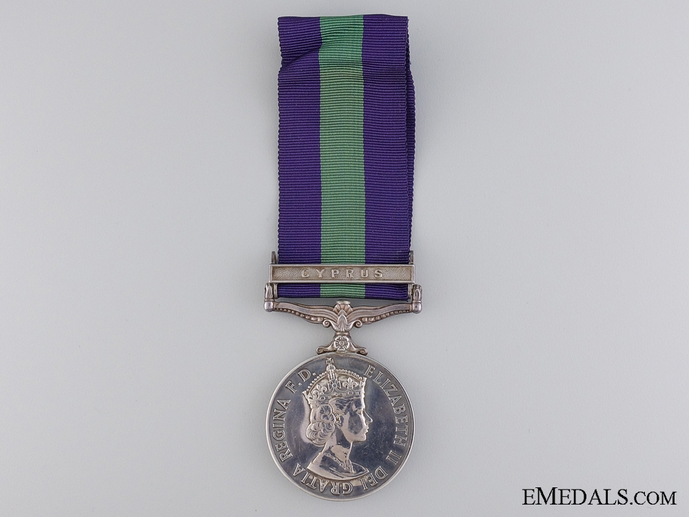 eMedals-A General Service Medal 1918-1962 to the Royal Army Ordnance Corps